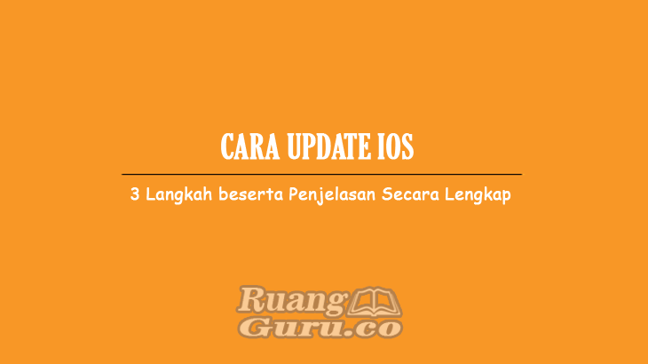 Cara-Update-IOS