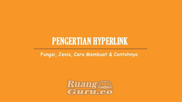 Pengertian Hyperlink